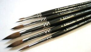 Pro Arte - Artists Crafters Pure Sable Brushes - Round - Series 40 - Watercolour