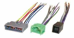 Scosche FDK10B Premium Sound Car Stereo CD Player Harness Wire Radio Install
