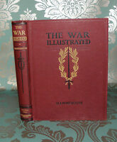 """** The War Illustrated - Volume 2- HB, """"Signed by Editor"""" - Amalgamated Press,"""