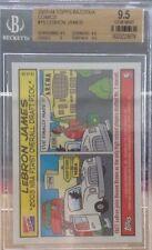 2003-04 Topps Bazooka Comics LEBRON JAMES ROOKIE BGS 9.5  Cleveland All World