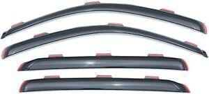 Lund Ventvisor Elite 4 Pc Set Side Window Deflectors For 06-13 Chevrolet Impala