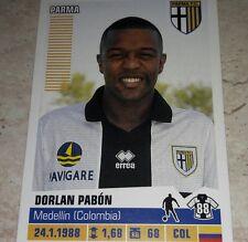FIGURINA CALCIATORI PANINI 2012/13 PARMA PABON ALBUM 2013