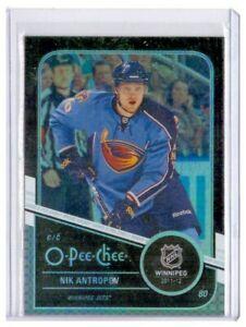 Nik Antropov 2011-12 O-Pee-Chee Black Rainbow Parallel Card #212 /100