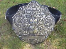 2018 New Fandu Big Gold Adult Antique Gold Wrestling Championship Title Belt