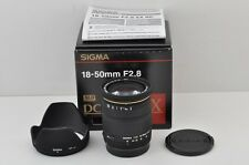 SIGMA AF 18-50mm F2.8 EX DC Zoom Lens for Canon EOS EF Mount with Box #170616a