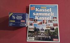 Panini Kassel sammelt Kassel 1 x Display + Album - 50 Tüten 250 Sticker