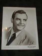 Harry Prime Big Band musician - B&W publicity photo late 40's early 50's