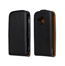 Genuine leather Flip Case Cover Open up for Samsung Galaxy Trend GT-S7562 S Duos