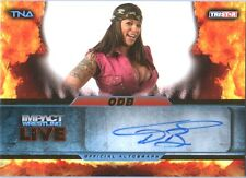 TNA ODB 2013 Impact Wrestling LIVE GOLD Autograph Card SN 95 of 99