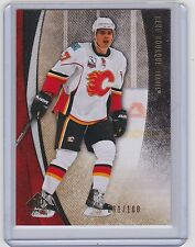 10-11 2010-11 SP GAME USED RENE BOURQUE GOLD /100 #12 UD CALGARY FLAMES