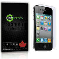 CitiGeeks® iPhone 4 4S Screen Protector Matte Anti-Glare Shield Skin [3-Pack]
