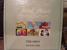 TRIVIAL PURSUIT:THE 1980'S MASTER GAME 1989