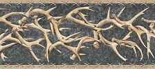 WESTERN DEER ANTLERS Wallpaper Border TA39015B