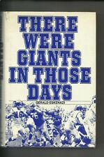 There Were Giants in Those Days by Gerald Eskenazi  1976 Hardcover