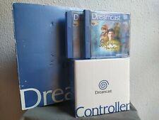 Consola Sega Dreamcast en caja con 2 mandos, Visual Memory y Shenmue