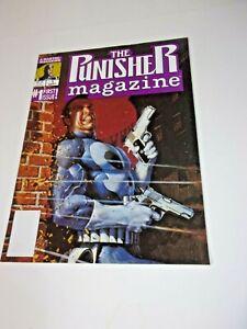 THE PUNISHER MAGAZINE #1 OCTOBER 1989 MARVEL COMICS STEVEN GRANT & MIKE ZECK