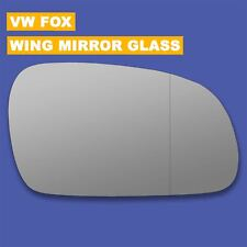 For VW Fox wing mirror glass 03-11 Right Driver side Aspherical Blind Spot