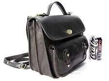 Vintage Ghurka Marley Hodgson No 191 O'ROURKE Black Vintage Leather 38 Briefcase
