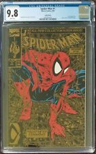 Spider-Man 1 Gold Edition CGC 9.8 with white pages
