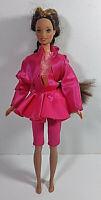 Vintage Barbie Doll Clothing Outfit Mattel Pink Top Jacket Jumper Skirt Pants