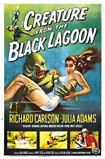Creature From The Black Lagoon Movie Poster Sticker or Magnet
