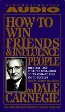 Audio How to Win Friends and Influence People by Dale Carnegie 8 Cassettes