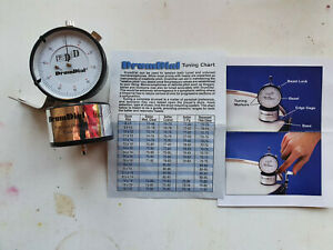DrumDial Precision Tuner, Opened - Never Used Boxed With Instructions.