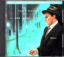 Frank Sinatra - In The Wee Small Hours CD 'Mood Indigo/Glad To Be Unhappy'