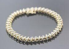 New listing 14k Yellow Gold & Diamond Women's Tennis Bracelet 3.52 TCW K SI2 14.8g. #30520