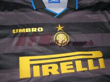 MAGLIETTA INTER FINALE COPPA UEFA RONALDO 1998 UMBRO