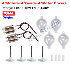 Original Syma X5SC X5SW X5HC X5HW spare parts CW CCW Motor Cover Gear Wheel set