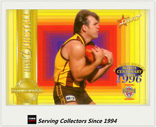 1996 Select AFL Classic Metal Future Hall of Fame Redemption Card Set (10) 108