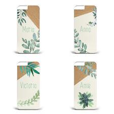 LUXURY PLASTIC CASE COVER Personalised Greenery Flowers Wood Phone Case K54 s20