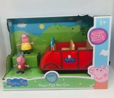 Peppa Pig's Red Car - NEW talking red car with Peppa and Mommy Pig figures