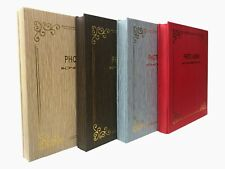 Large Self Adhesive Photo Album Hold Various Sized Picture Up to A4 Assorted X 1