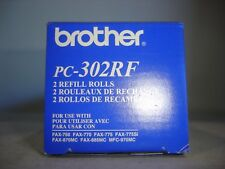 Genuine OEM Brother Black Refill Rolls (PC-302RF)