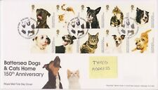 TALLENTS PMK GB ROYAL MAIL FDC 2010 BATTERSEA DOGS & CATS HOME STAMP SET