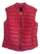 Magaschoni Down Bright Orange Vest Size M MSRP: $384.00