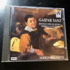 Gaspar Sanz: Instruccion De Musica Sobre La Guitarra Espanola-CD