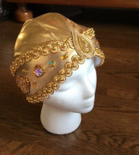 Professional Ballet Variation Solor Gold AB Headpiece Hat YAGP Men Boys YAGP O/S
