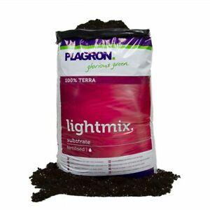 PLAGRON Light Mix 50 Litre Dutch Organic Terra Soil Compost Hydroponics