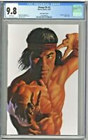 Shang-Chi #2 CGC 9.8 Alex Ross Variant Cover Virgin Timeless Cover Edition 2020