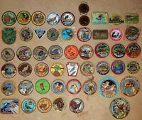 112 Vintage Embroidered Patches '90/'00 Nature Hunting Ltd Edition PA **CHOICE**
