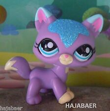 ✿LITTLEST PET SHOP ✿ KATZE CAT CHAT MAINE COON /1 #2386 ✿SPARKLE GLITZER✿RAR NEU