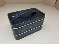 Women Cosmetic Bag Makeup Organizer Toiletry Case Double Layer Travel Portable