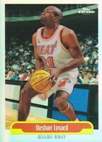 1999-00 Topps Chrome Refractors Basketball Cards Pick From List
