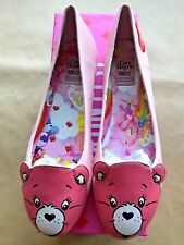 New IRON FIST Woman Care Bears Stare Ballet Flat Pink Size US5 UK35.5