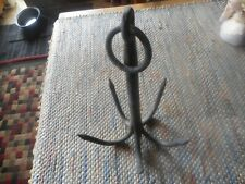 Vintage Iron 5 Prong Grappling Nautical Boat Construction Hook Strong Good Condi