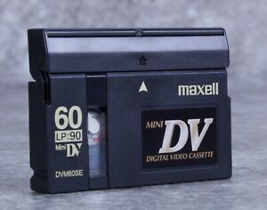 Maxell Mini DV Metal Evaporated Digital Videocassette DVM60SE