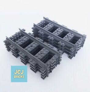 LEGO City Straight Railway Train Track x 8pce Set *Brand New* 53401 / 6037688